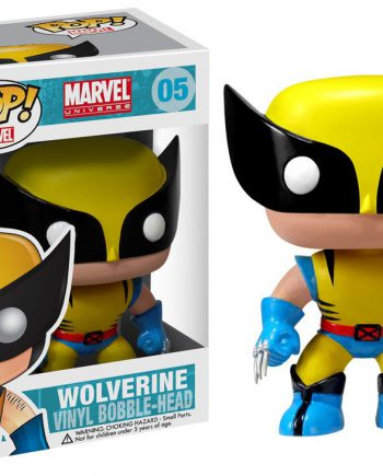 Funko POP! Marvel WOLVERINE 05 Vinyl Figure (VAULTED)