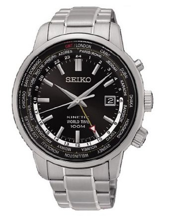 SEIKO Kinetic Neo Sports GMT SUN069P1 Orologio da Polso Uomo