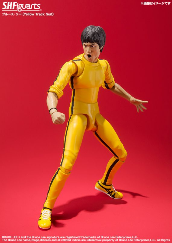 Bandai S.H. Figuarts BRUCE LEE Game of Death Action Figure