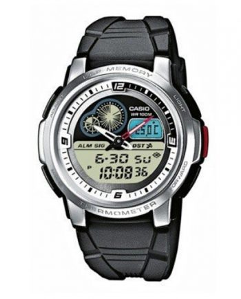 CASIO Collection AQF-102W-1B Orologio Uomo Analogico Digitale