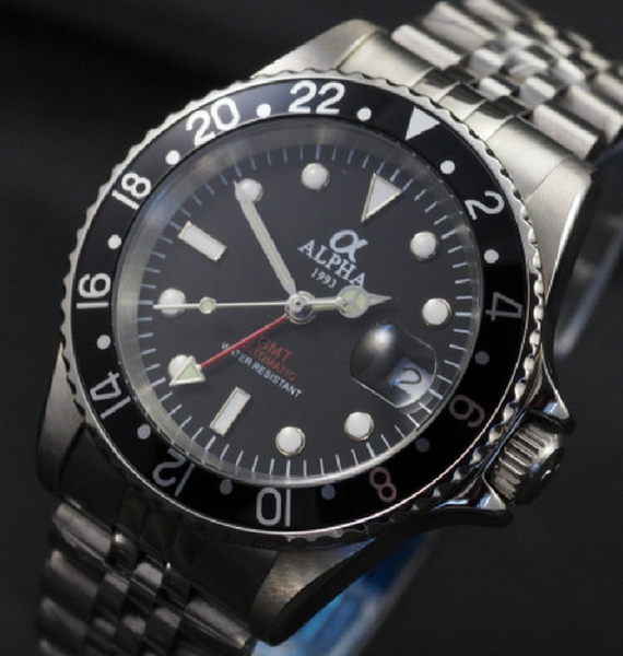 ALPHA GMT BLACK JUBILEE A