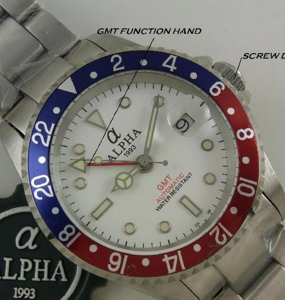 ALPHA GMT PEPSI WHITE OYSTER A