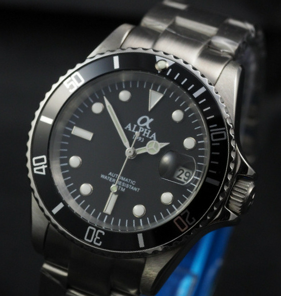 ALPHA SUBMARINER BLACK B
