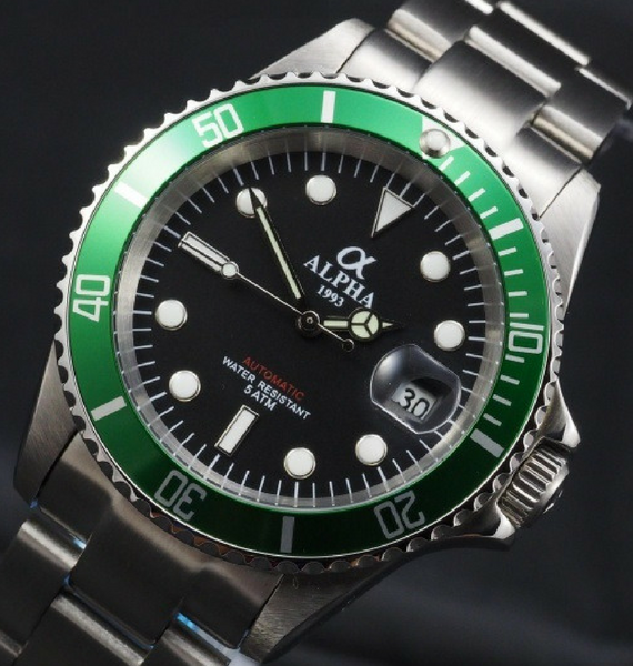ALPHA SUBMARINER GREEN B