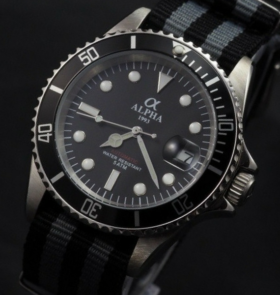 ALPHA SUBMARINER NATO STRAP C