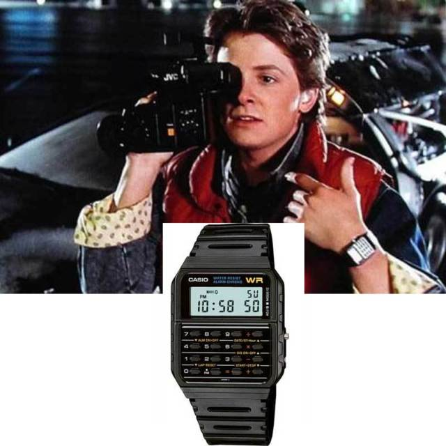 Casio ca-53w-1er  back to the future