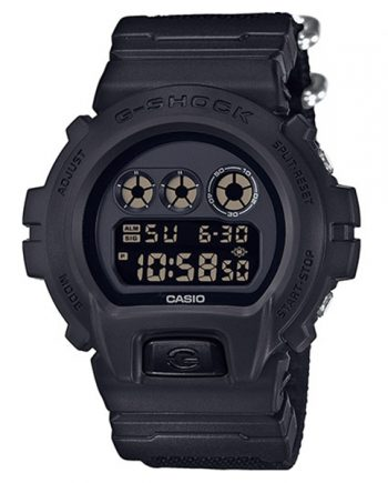 CASIO G-Shock DW-6900BBN-1 Orologio Uomo Digitale NATO Strap