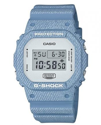 CASIO G-Shock DW-5600DC-2 Orologio Uomo Digitale Denim Look