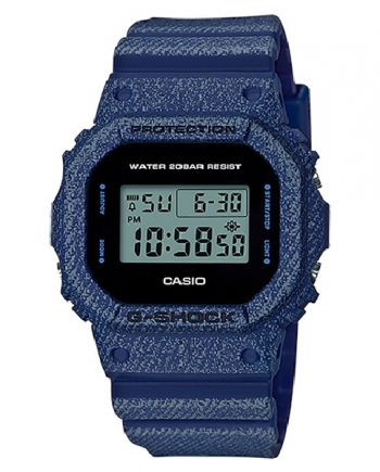 CASIO G-Shock DW-5600DE-2 Orologio Digitale Denim Look