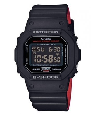 CASIO G-Shock DW-5600HR-1 Orologio Digitale Red Heritage