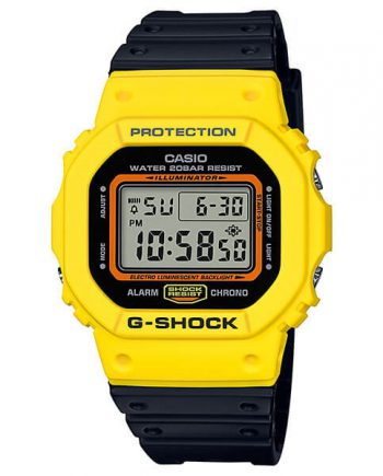 CASIO G-Shock DW-5600TB-1 Orologio Uomo Digitale Vintage