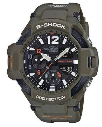 CASIO G-Shock GA-1100KH-3A Orologio Uomo Gravity Master