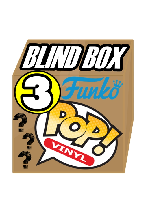Funko POP! BLIND BOX Contenente 3 Personaggi Mystery Box