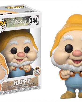 Funko POP! Disney Snow White HAPPY (GONGOLO) 344 Vinyl Figure