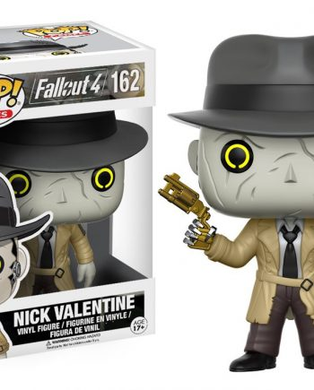 Funko POP! Games Fallout 4 NICK VALENTINE 162 Vinyl Figure