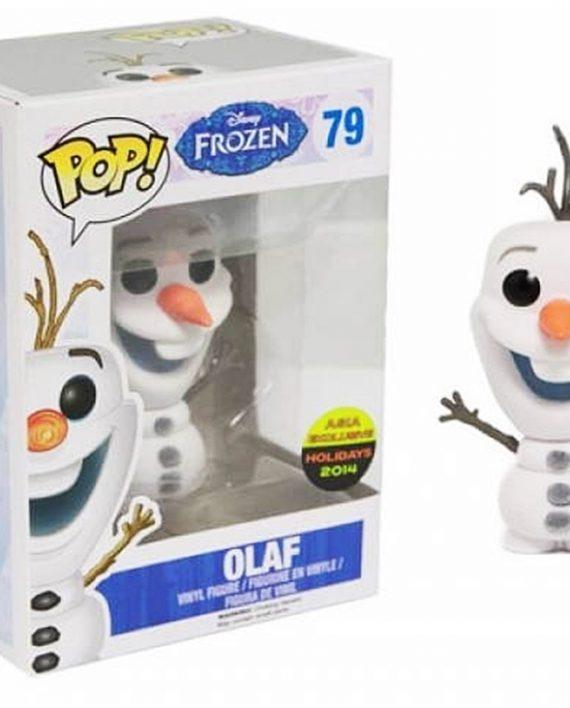 FUNKO POP FROZEN OLAF FLOCKED
