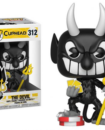 Funko POP! Games Cuphead THE DEVIL 312 Vinyl Figure