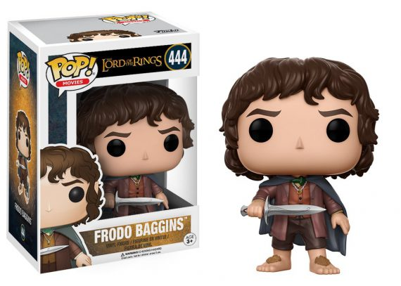 Funko POP! Movies Lords of the Rings FRODO BAGGINS 444