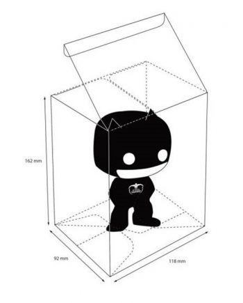 Funko POP! Ultimate Guard Protective Case