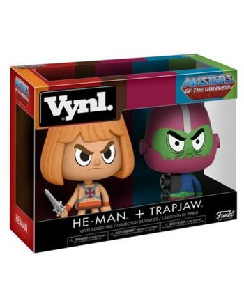 Funko VYNL Masters of the Universe HE-MAN e TRAP JAW