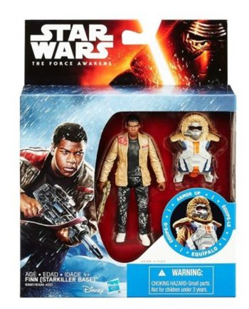 Star Wars Armor Up FINN Starkiller Base Action Figure HASBRO