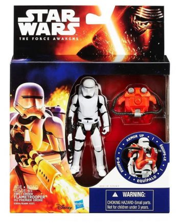 Star Wars Armor Up First Order FLAMETROOPER Action Figure HASBRO