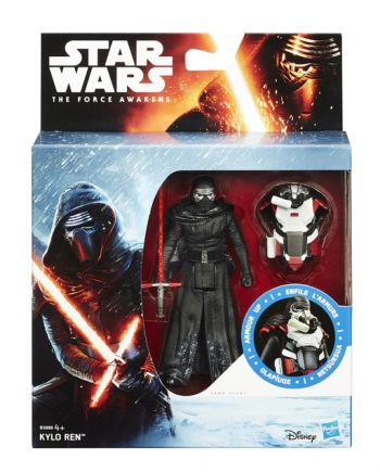 Star Wars Armor Up KYLO REN Action Figure HASBRO