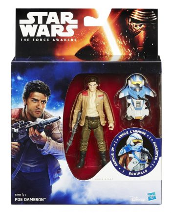Star Wars Armor Up POE DAMERON Action Figure HASBRO