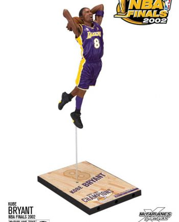 McFARLANE Kobe Bryant NBA Finals 2002 Action Figure