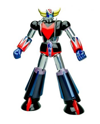 Metaltech UFO Robot Grendizer Chrome Action Figure 15cm