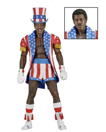 NECA Rocky IV APOLLO CREED 40th Anniversary Action Figure