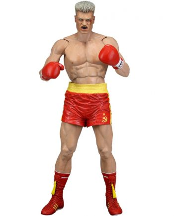 NECA Rocky IV IVAN DRAGO BLOODIED (Red Shirts) 40th Anniversary