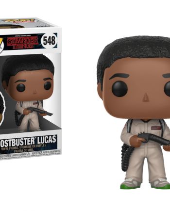 Funko POP! Television Stranger Things GHOSTBUSTER LUCAS 548