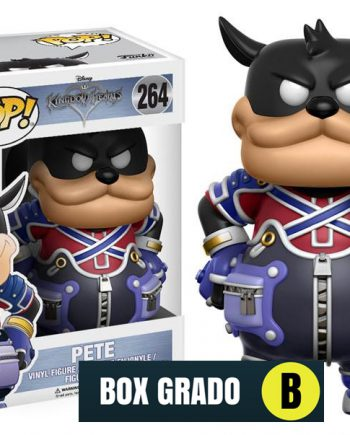 Funko POP! Kingdom Hearts PETE 264 BOX GRADO B