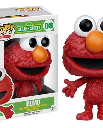Funko POP! Sesame Street ELMO #08 Vinyl Figure (VAULTED)