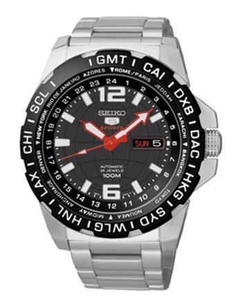SEIKO 5 Sports SRP685K1 Orologio Uomo GMT Automatico
