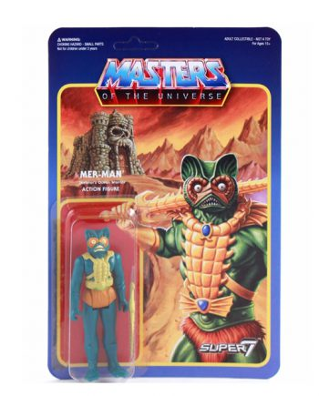 Masters of the Universe Super 7 ReAction MER-MAN Action Figure