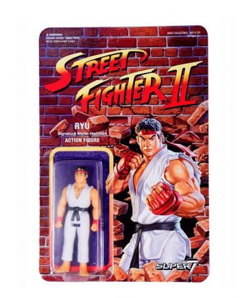Street Fighter II Super 7 ReAction RYU Action Figure 10cm