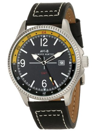 AVI-8 Hawker Hunter AV-4007-02 Orologio Uomo Militare GMT