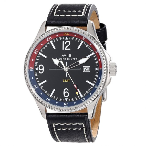AVI-8 Hawker Hunter AV-4007-03 Orologio Uomo Militare GMT