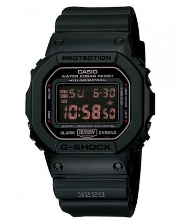 CASIO G-Shock DW-5600MS-1 Orologio Uomo Digitale Red Eye