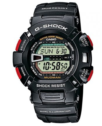 CASIO G-Shock G-9000-1V Orologio Uomo Digitale Mudman Black