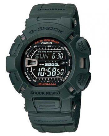 CASIO G-Shock G-9000-3V Orologio Uomo Digitale Mudman Green