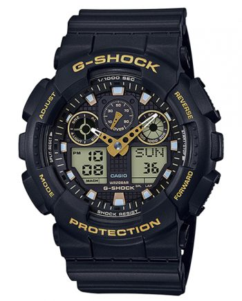 CASIO G-Shock GA-100GBX-1A9 Orologio Uomo Analogico Digitale
