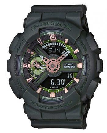 CASIO G-Shock GMA-S110CM-3A Orologio Uomo Analogico-Digitale