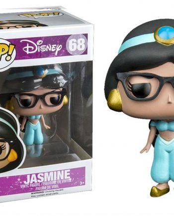 Funko POP! Disney JASMINE Nerd (Glasses) 68 Vinyl Figure