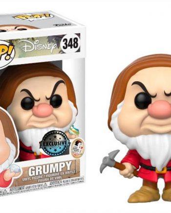 Funko POP! Disney Snow White GRUMPY w/Diamond (BRONTOLO) 345