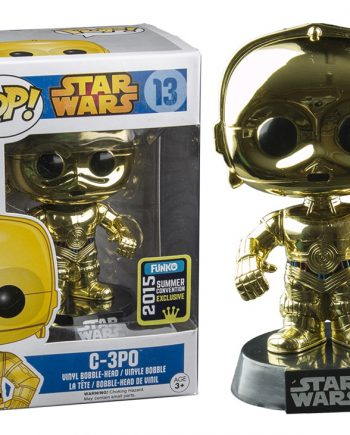 Funko POP! Star Wars C-3PO Metallic SDCC 2015