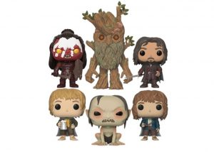 FUNKO POP THE LORDS OF THE RINGS FULL SET