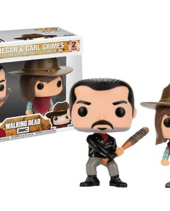 Funko POP! Television The Walking Dead NEGAN & CARL 2-Pack